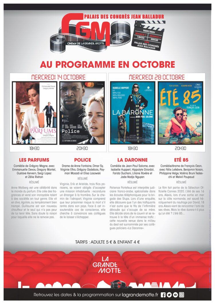 CINEMA CGM A L'AFFICHE