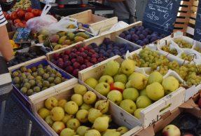 Les marchés alimentaires sont maintenus