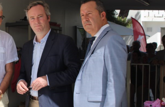 Visite du secrétaire d'Etat Jean-Baptiste Lemoyne