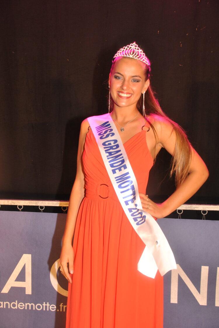 Salomé Scherer, Miss La Grande Motte 2020