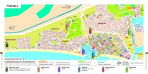 Plan des parkings de La Grande Motte