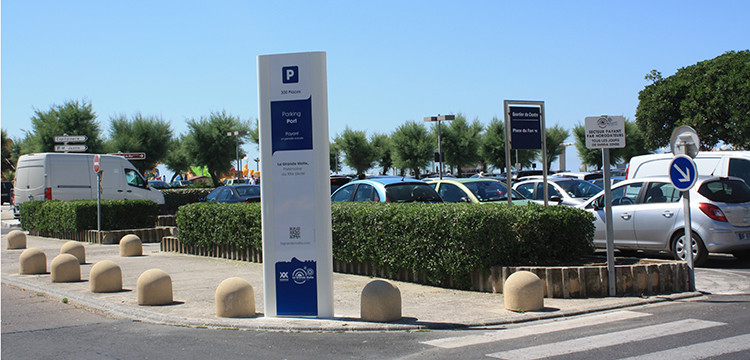 Parkings gratuits et payants