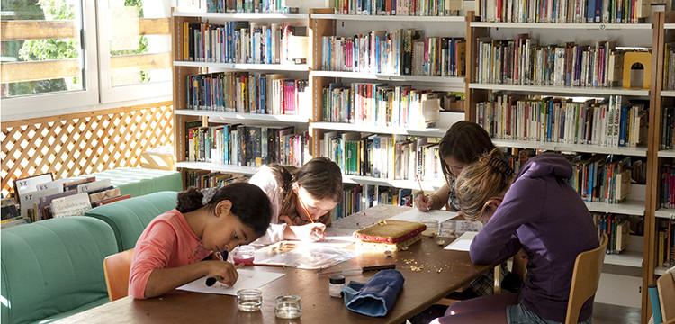 La bibliothèque –Ludothèque