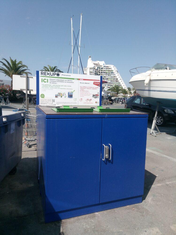 Un nouveau container au Port
