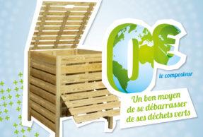 Un bon moyen de se débarrasser de ses déchets verts : le composteur