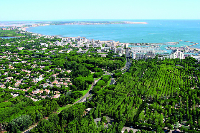 4 arbres par habitant, une vraie ville-jardin ! - La Grande Motte