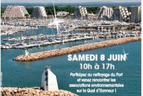 ENVIRONNEMENT  Journée «Port propre»  Samedi 8 juin