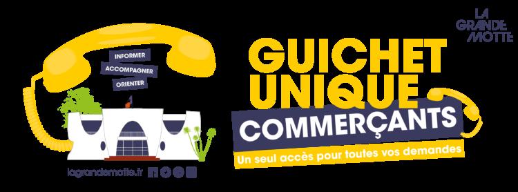 Guichet unique commerçants