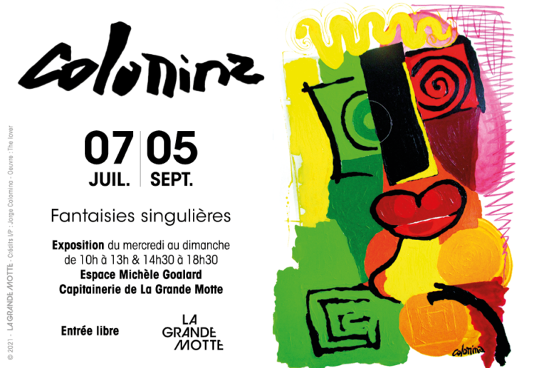EXPOSITION DE JORGE COLOMINA