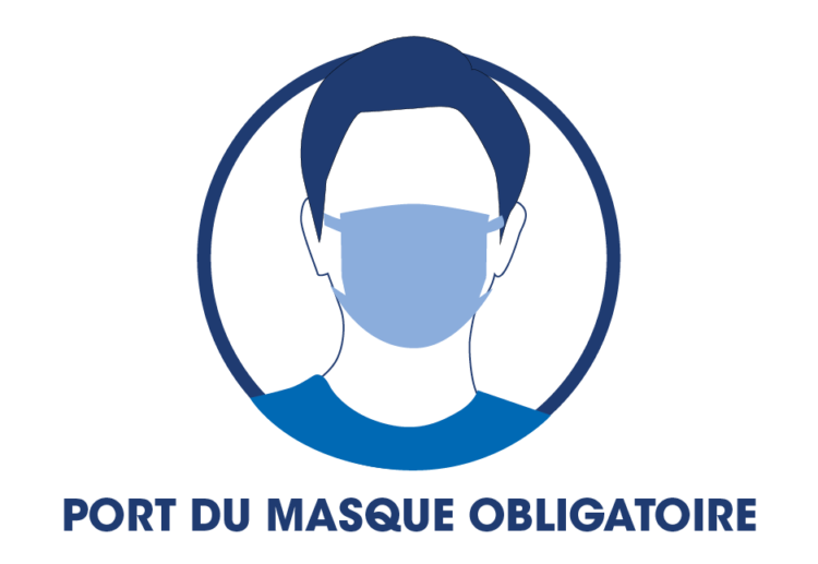 Port du masque obligatoire à La Grande Motte